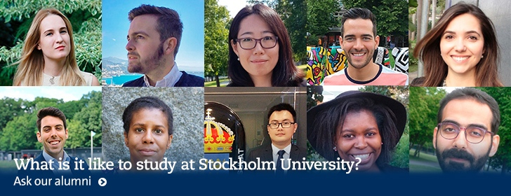 Alumni students at Stockholm University