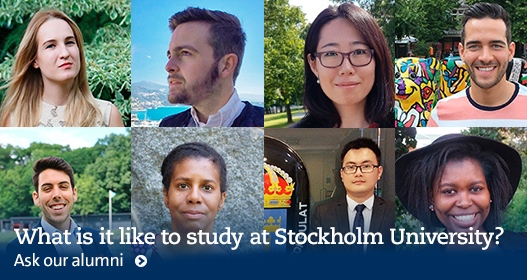 Alumin students at Stockholm University
