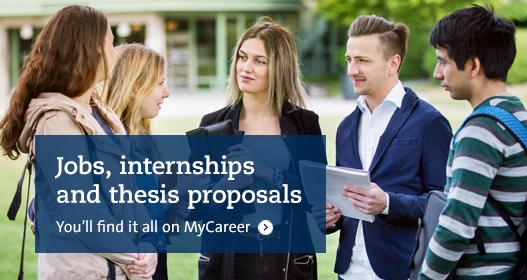 Jobs, internships and thesis proposals