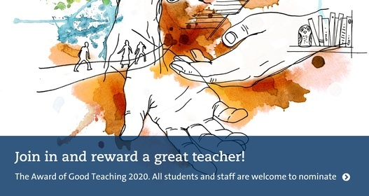 Join in and reward a great teacher 2020