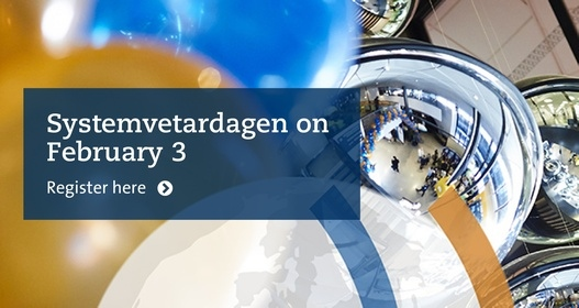 Systemvetardagen 2021 goes digital